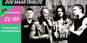 Doe Maar Tribute - Za. 21 Sept.
